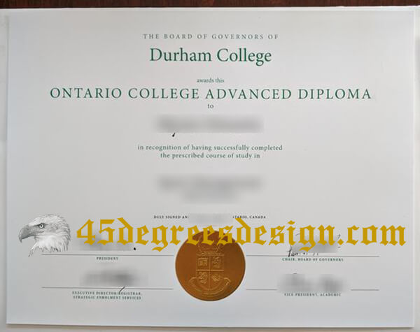 Durham College Diploma