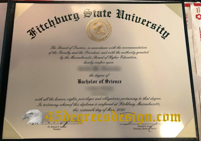 Fitchburg State University diploam