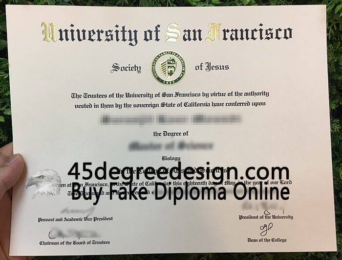 University of San Francisco (USF) diploma, Buy diploma online