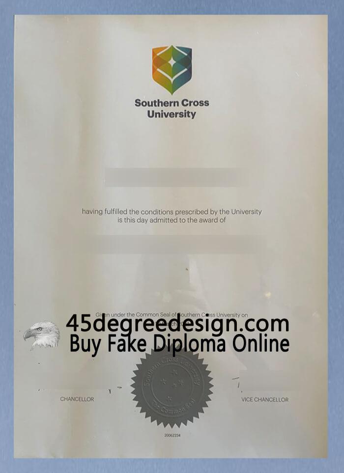 Southern Cross University (SCU) degree
