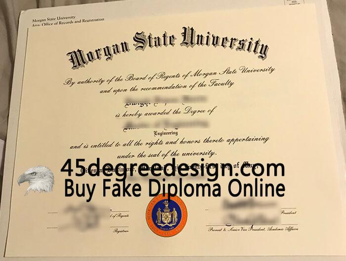 Morgan State University diploma, MSU degree, Buy diploma online