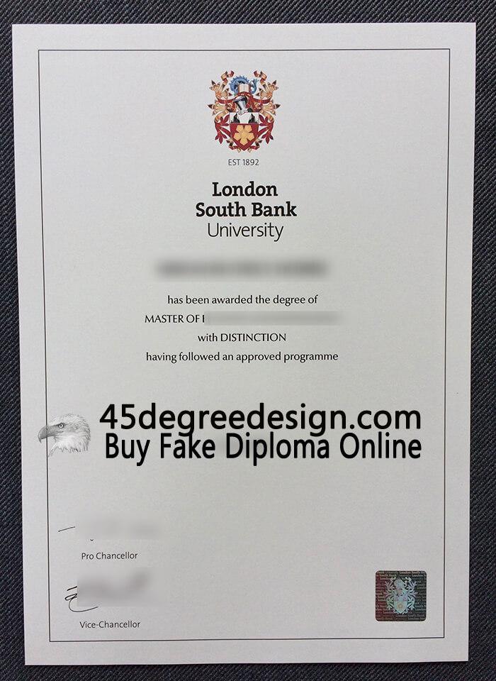LSBU degree
