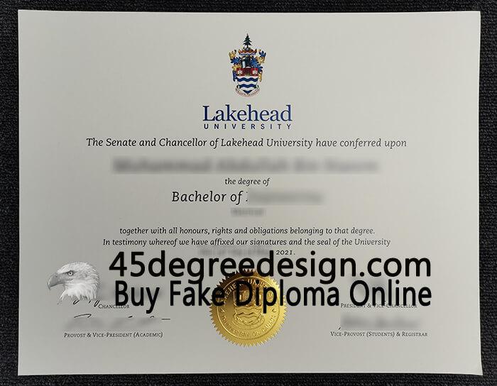 Lakehead University Bachelor Degree