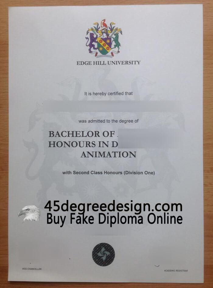 Edge Hill University degree