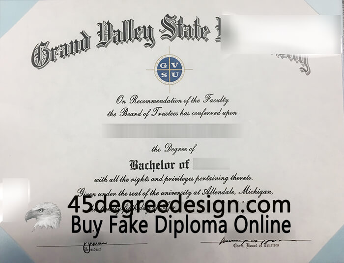 Grand Valley State University Diploma