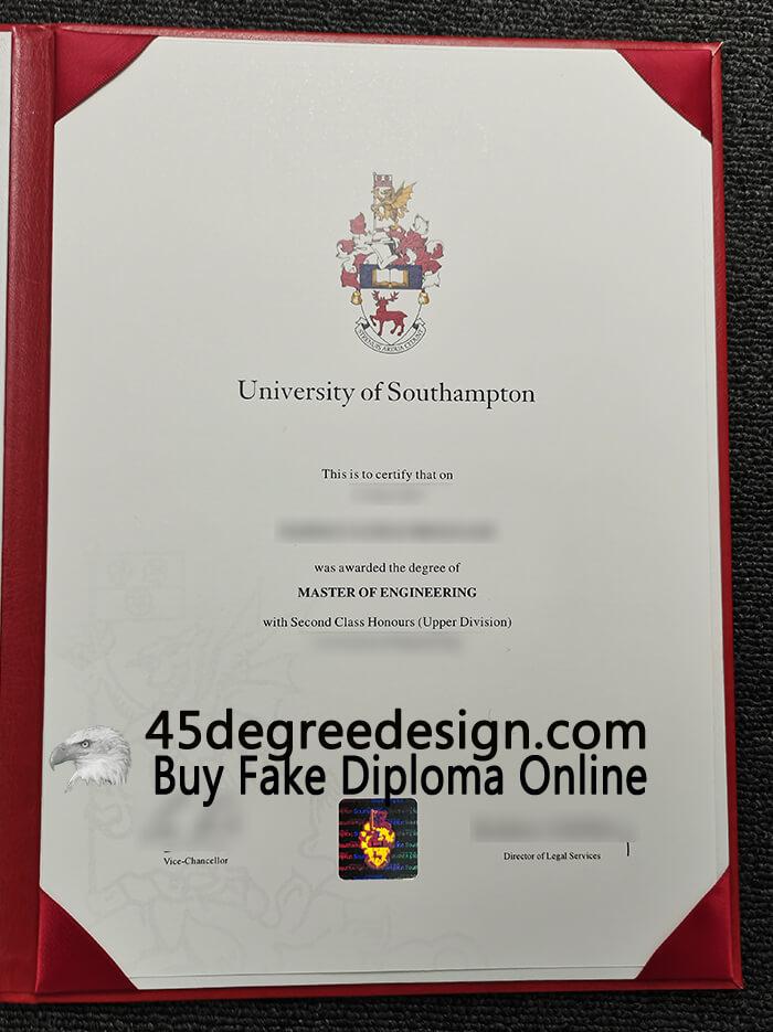 buy the University of Southampton degree