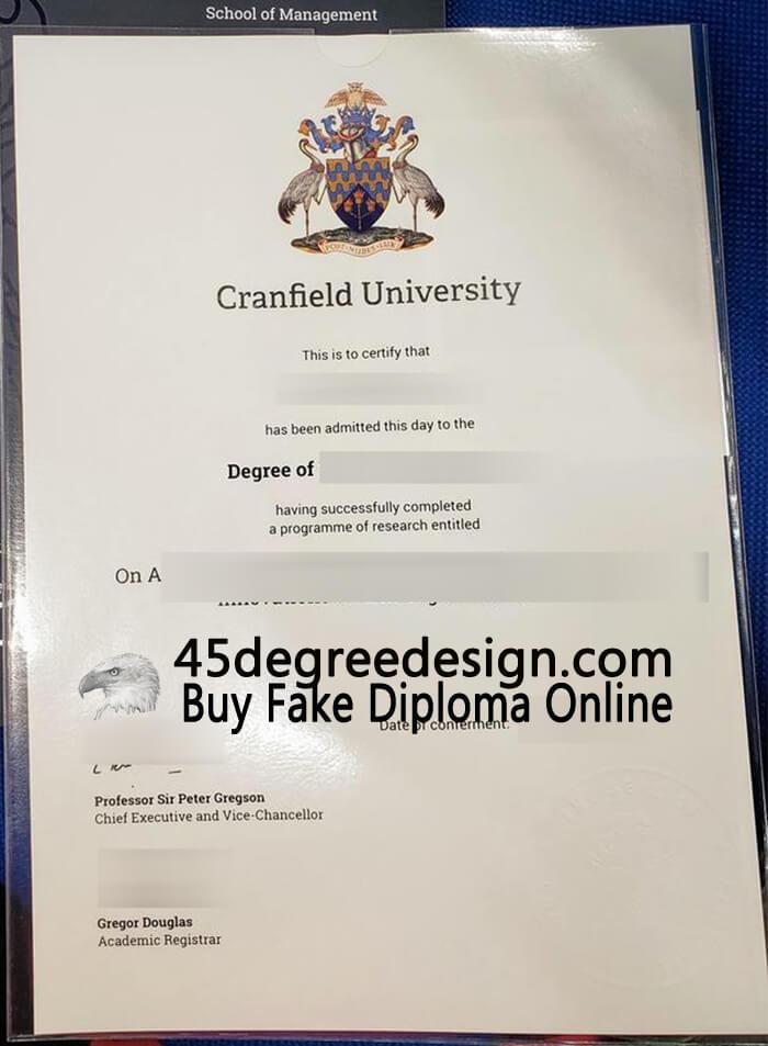 Cranfield University degree