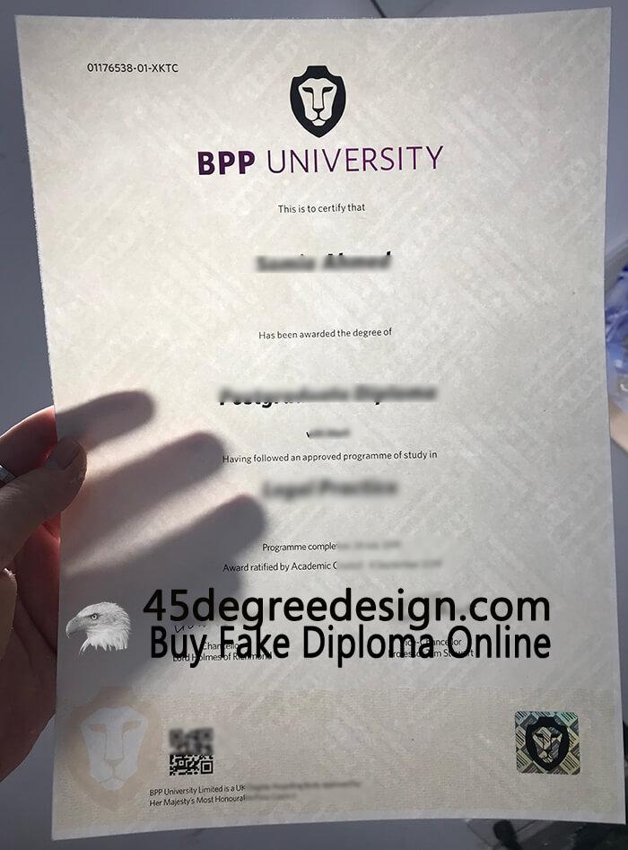 BPP University degree