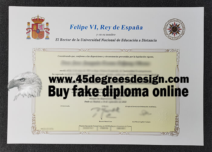 UNED diploma