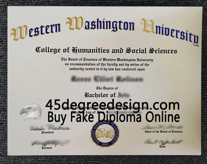 WWU diploma WWU degree certificate