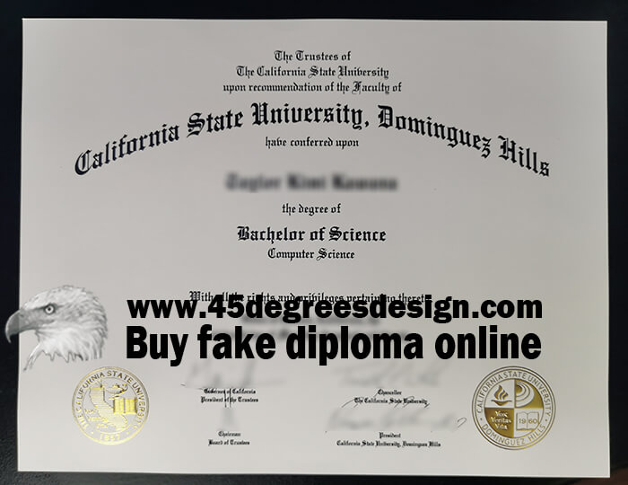 California State University, Dominguez Hills diploma
