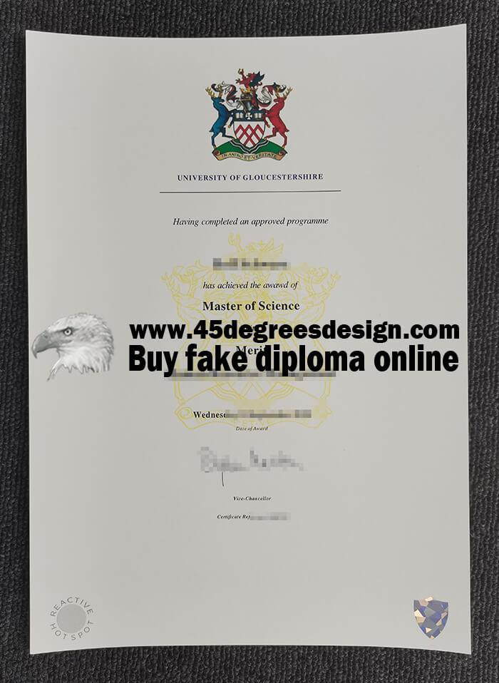 University of Gloucestershire master degree