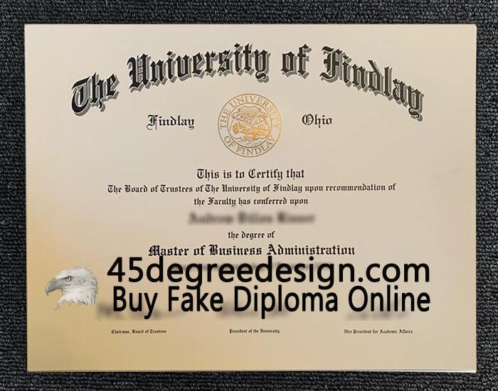 University of Findlay diploma
