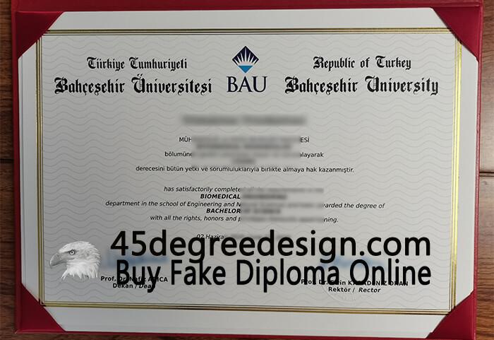 Bahçeşehir University (BAU) diploma, Buy BAU diploma online