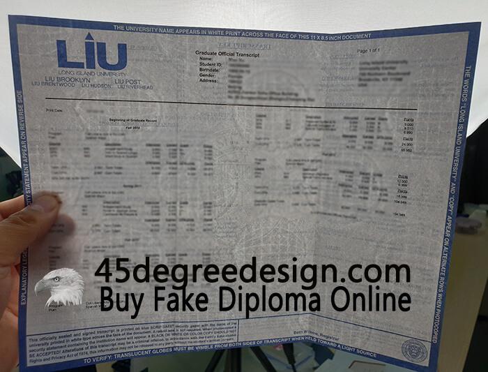 Long Island University transcript, Buy diploma online
