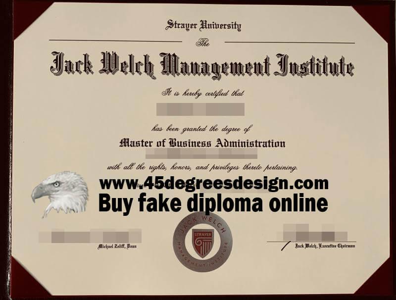 JWMI MBA diploma