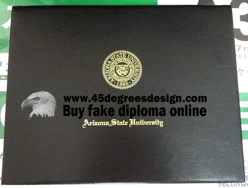 ASU Diploma Cover