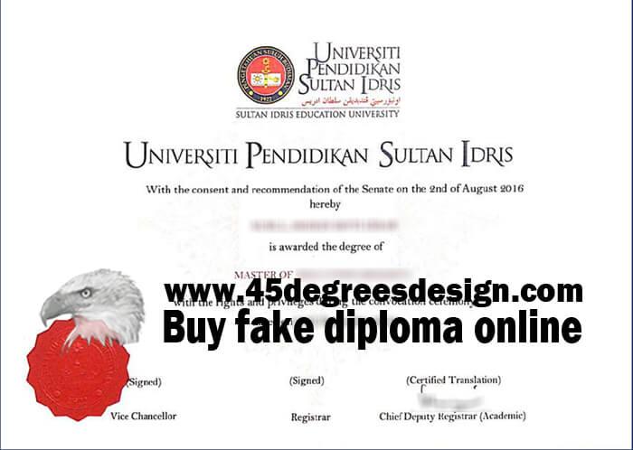 UPSI degree