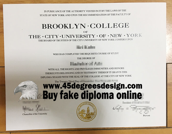 Brooklyn College Diploma