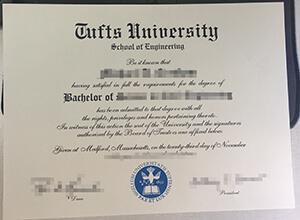 Tufts University fake diploma