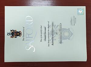 University of Salford degree