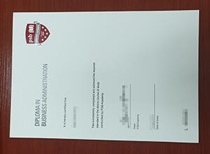 Order PSB Academy diploma
