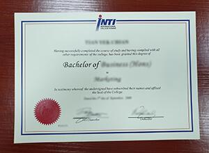 INTI International University fake diploma | buy Malaysia degree
