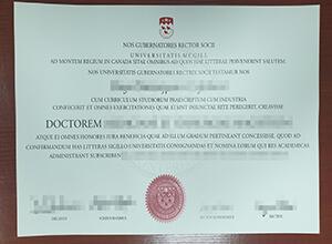 fake McGill University degree