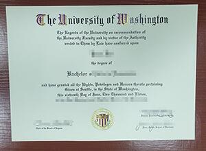 Buying a fake University of Washington degree certificate