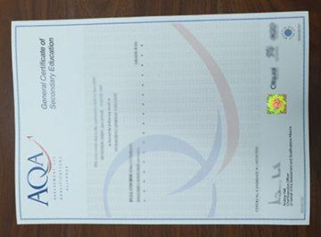 How to get fake AQA GCSE certificate? buy certificate in UK