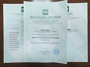 FOM Hochschuie diploma
