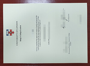 King's College London diploma