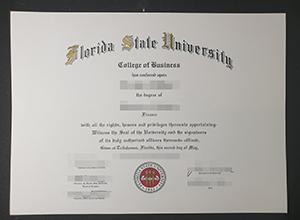 Order fake Florida State University diploma online