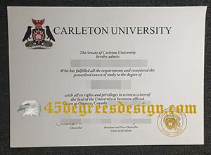 Carleton University diploma