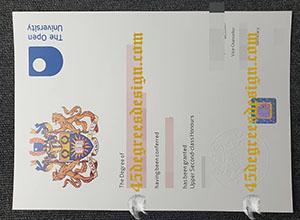 Open University bachelor degree.