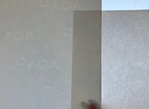 What is watermark paper and how does it look like?
