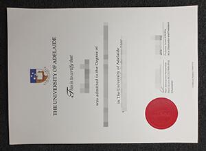 University of Adelaide diploma