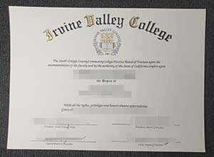 Purchase a fake  Irvine Valley College diploma, buy degree online