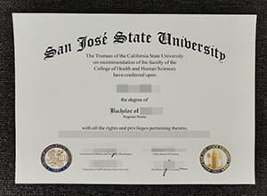 Where to buy a fake San Jose State University diploma?