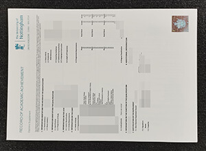 How to get a fake University of Nottingham transcript?