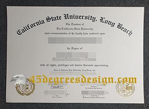 CSULB diploma