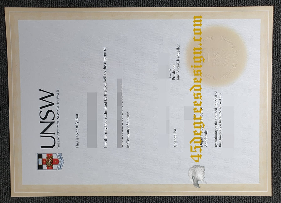 Where do fake UNSW diploma come from? buy degree in AUS