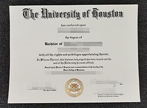 University Of Houston Bachelor degree