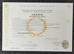 Getting fast fake New Sorbonne University (Paris III) diploma, buy fake diploma France, How to purchase fake New Sorbonne University (Paris III) diploma