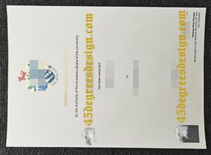 Buying a fake Birmingham City University diploma in UK