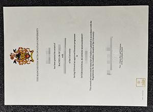 Manchester Metropolitan University fake diploma