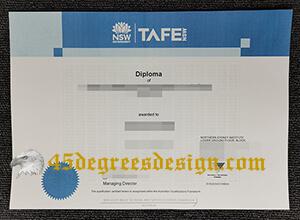 Where to get a fake TAFE NSW diploma?