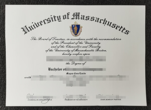 Purchase a fake University of Massachusetts Boston diploma