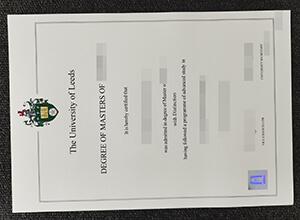 University of Leeds fake diploma