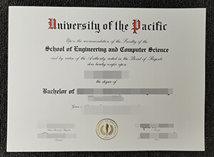 Purchase a fake University of the Pacific (UOP) diploma